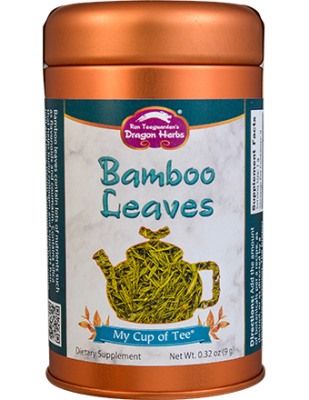 Bamboo Leaves - Stackable Tin Can