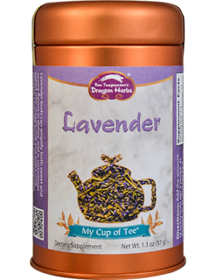 Lavender - Stackable Tin Can