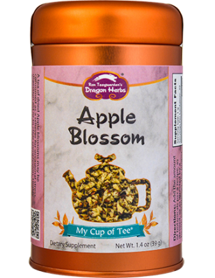 Apple Blossom - Stackable Tin Can