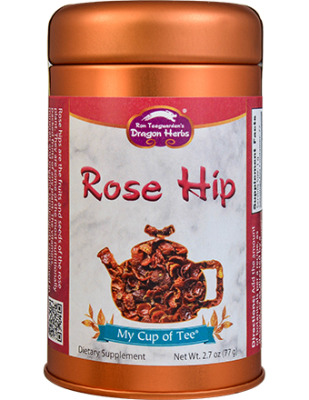 Rose Hip - Stackable Tin Can