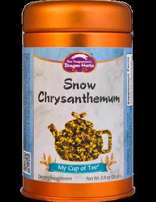 Snow Chrysanthemum - Stackable Tin Can