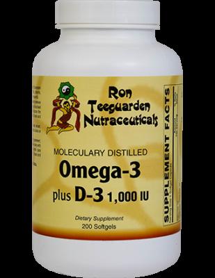 Omega-3 Plus Vitamin D-3 1,000 IU