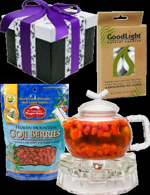 Goji Tea Kit with Small pot