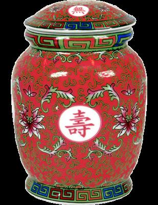 Tea Canister - Fuchsia