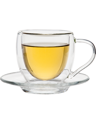 Insulated Tea Cup with Saucer 3 oz.