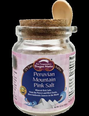 Peruvian Mountain Pink Salt