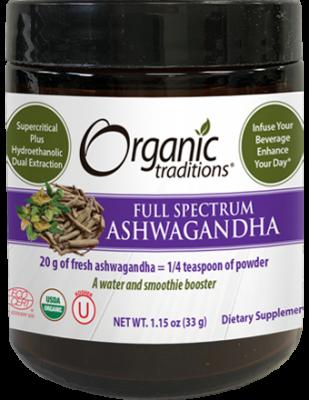 Organic Full Spectrum Ashwagandha