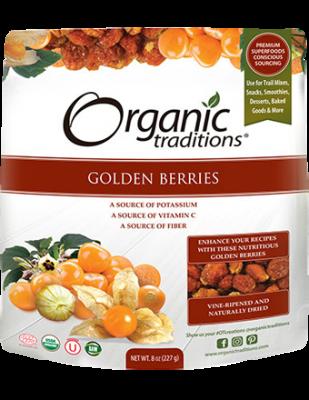 Golden Inca Berries, Organic Traditions