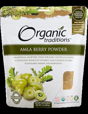 Amla Berry Powder, Organic Traditions