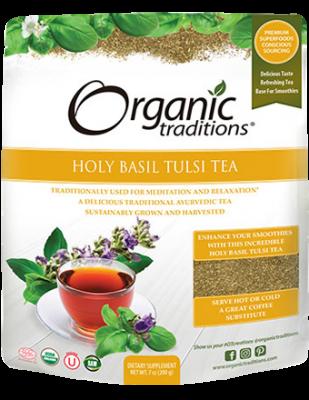 Holy Basil (Tulsi) Tea, Organic Traditions