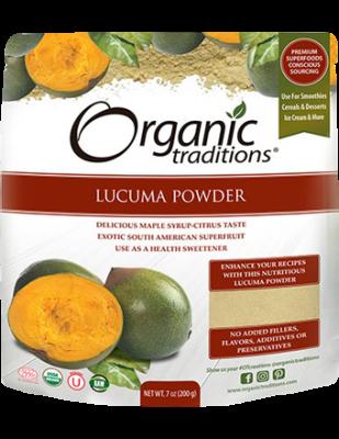 Lucuma Powder, Organic Traditions