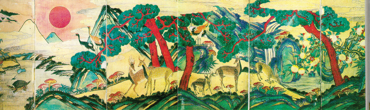 Reishi Deer Painting