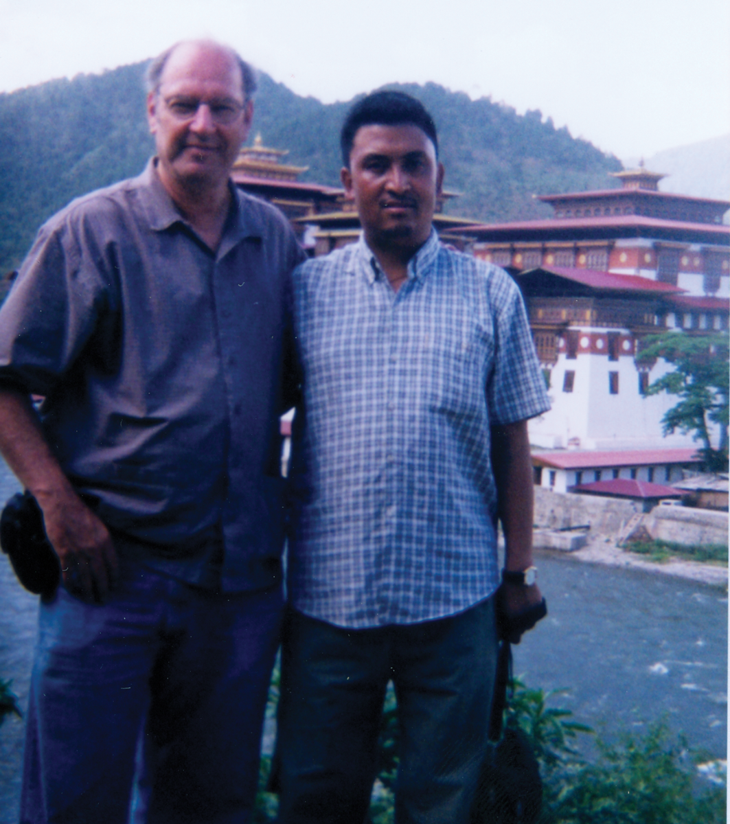 Ron And Sonam In Bhutan