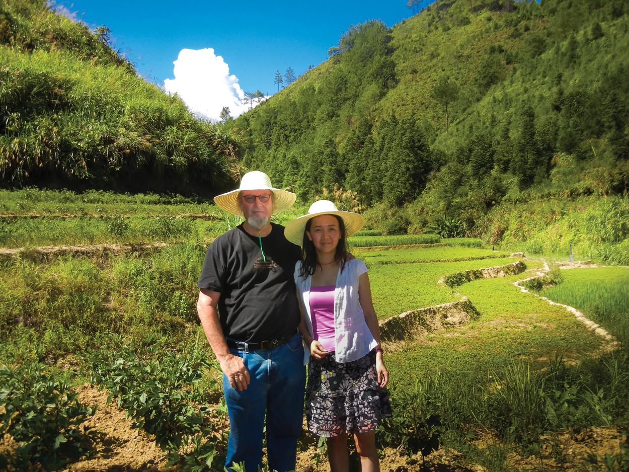 Ron And Yanlin In Gynostemma Ravine