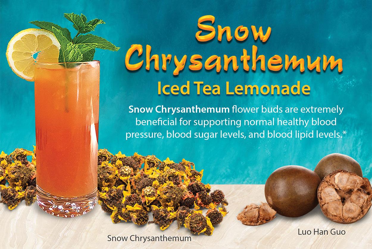 Snow Chrysanthemum Recipe Card Image
